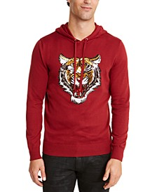 INC Men's Rawr Hooded Sweater, Created for Macy's