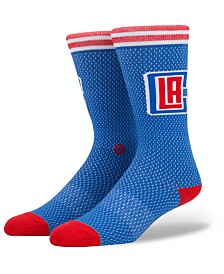 Stance Los Angeles Clippers Arena Jersey Pack Crew Socks