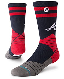 Atlanta Braves Diamond Pro Authentic Crew Socks