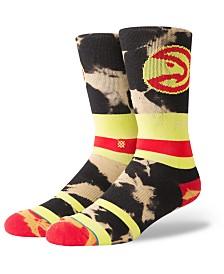 Stance Atlanta Hawks Acid Wash Crew Socks