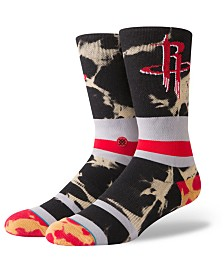 Stance Houston Rockets Acid Wash Crew Socks