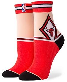 Stance Women's Chicago Bulls Monofilament Anklet Socks