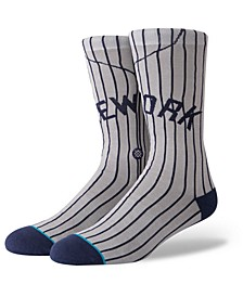 New York Yankees Coop Jersey Crew Socks