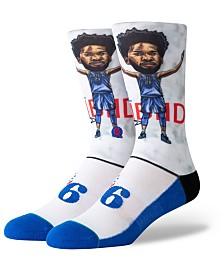 Stance Joel Embiid Philadelphia 76ers Big Head Crew Socks