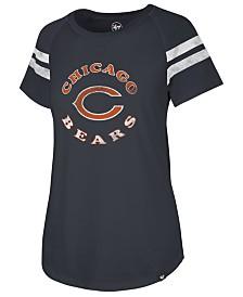 '47 Brand Women's Chicago Bears Flyout Raglan T-Shirt