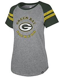 Women's Green Bay Packers Flyout Raglan T-Shirt