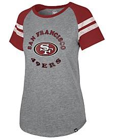 '47 Brand Women's San Francisco 49ers Flyout Raglan T-Shirt