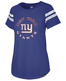 Women's New York Giants Flyout Raglan T-Shirt