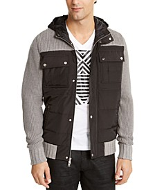 INC Men's Ritzio Sweater Jacket, Created For Macy's
