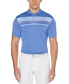 Men's Energy Striped Golf Polo