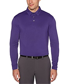Men's Long-Sleeve Golf Polo