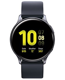 Galaxy Active 2 Black Silicone Strap Touchscreen Smart Watch 40mm
