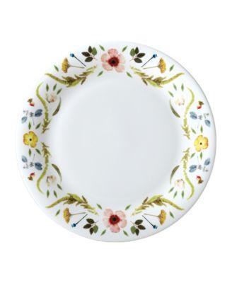 """Scandinavian Floral 10"""" Dinner Plate"""