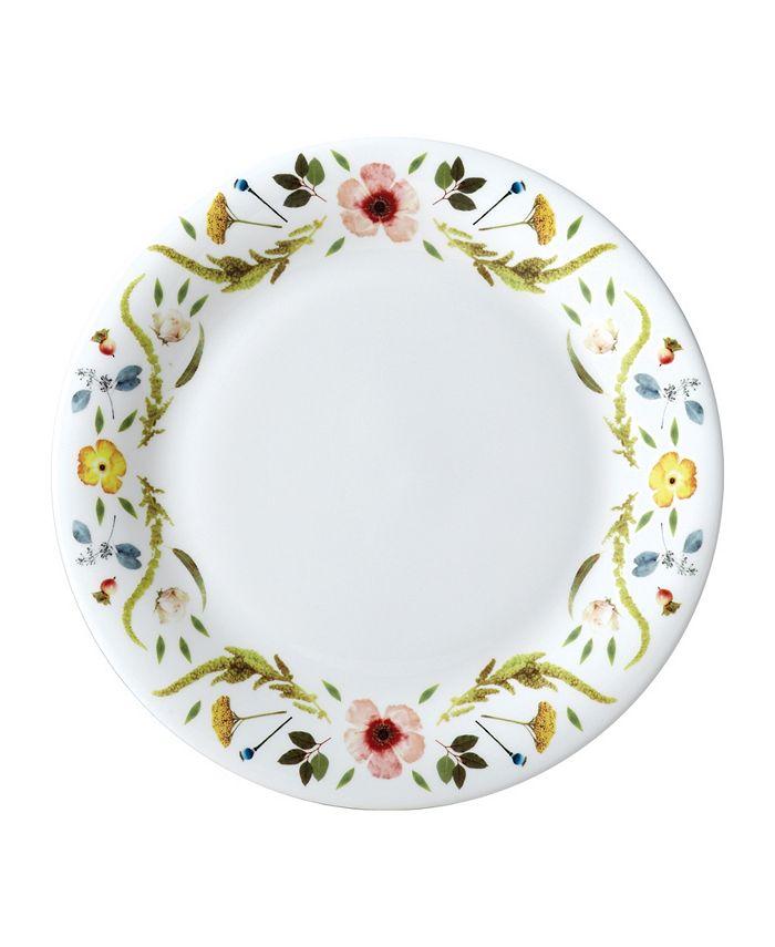 "Twig New York - Scandinavian Floral 10"" Dinner Plate"