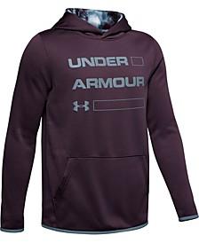 Boys' Armour Fleece® Wordmark Hoodie