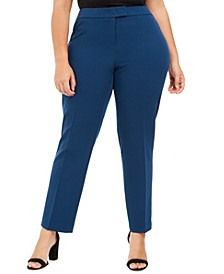 Plus Size Extended-Tab Pants