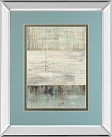 """Of Fog and Snow by Heather Ross Mirror Framed Print Wall Art - 34"""" x 40"""""""