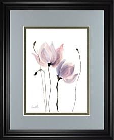 """Floral Sway I by Lanie Loreth Framed Print Wall Art - 34"""" x 40"""""""