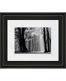 """Winter Is Coming by Lars Van De Goor Framed Print Wall Art - 34"""" x 40"""""""