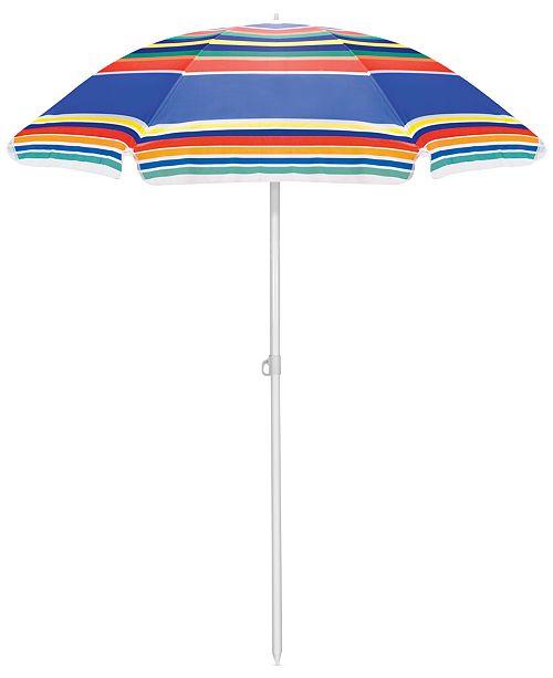 Large 5 Ft Portable Beach Umbrella