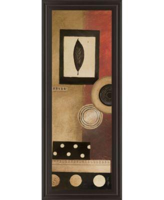 "Radius Panel I by Kimberly Poloson Framed Print Wall Art - 18"" x 42"""