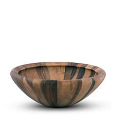 Acacia Wood Modern Bowl for Fruits or Salads