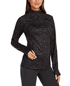 Printed Quarter-Zip, Created for Macy's