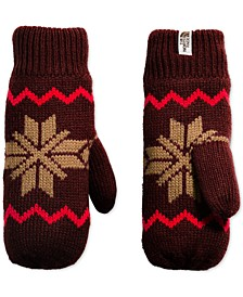 Fair Isle Fleece-Lined Mittens