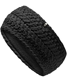 Women's Cable-Knit Fleece-Lined Earband