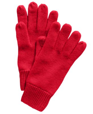 Cashmere Tech Gloves, Created for Macy's