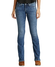 Contoured Bootcut Jeans