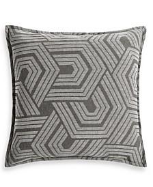 Hotel Collection Textured Hexagon European Sham