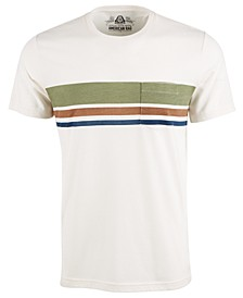 Men's Striped Chest Pocket T-Shirt, Created for Macy's