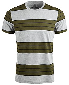 Men's Heather Stripe T-Shirt, Created For Macy's
