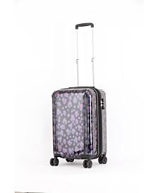 "Triforce Lumina 22"" Carry On Iridescent Leopard Print Luggage"