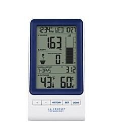 724-1415BL Wireless Rain Station with Temperature and Humidity