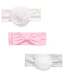 Baby Girls 3-Pc. Headband Set