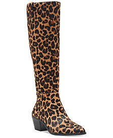 INC Women's Launa Pointed-Toe Boots, Created for Macy's