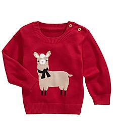 Baby Boys Llama Sweater, Created For Macy's