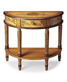 Mozart Demilune Console Table