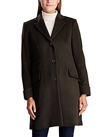 Lauren Ralph Lauren Single Breasted Reefer Coat