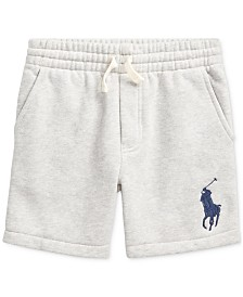 Polo Ralph Lauren Toddler Boys Fleece Shorts, Created For Macy's