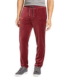 Men's Velour Pants, Created For Macy's