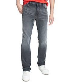 Tommy Hilfiger Men's Slim-Tapered Fit Stretch Jeans