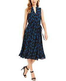 Tess Printed A-Line Dress