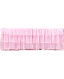 Triple Layer Tulle Bed Skirt, Full