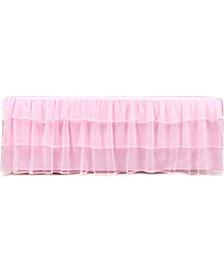 Triple Layer Tulle Bed Skirt, Full