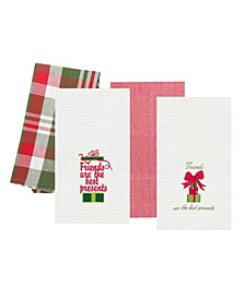 Best Presents Kitchen Towel, Set of 4