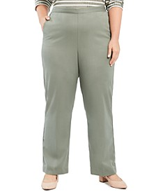 Plus Size Loire Valley Proportioned Twill Pants