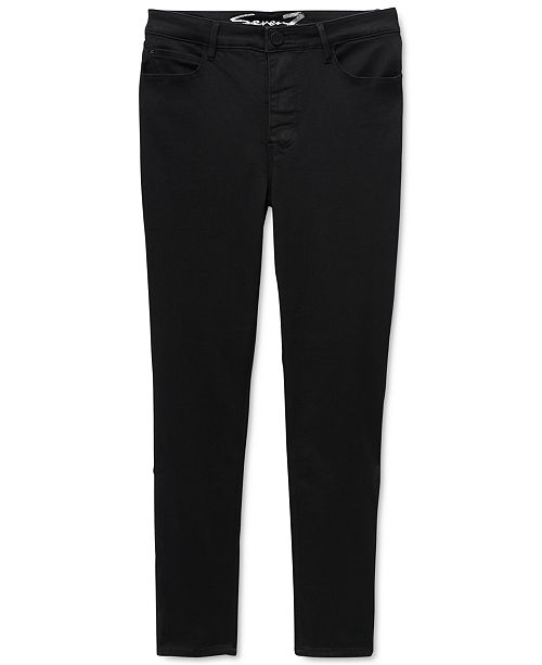 Seven7 Jeans High-Rise Slim Adaptive Ankle Jeans